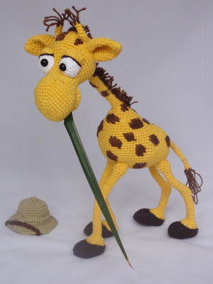 Ginnie the Giraffe | Recipe | Crochet amigurumi free patterns ... | 400x300
