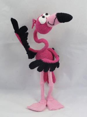 Fernando El Flamenco Amigurumi Crochet Pattern