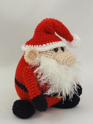 Santa Gonk Christmas Decorations - Crochet PDF Pattern   Ganchillo ...   400x300