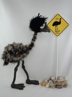 Emma The Emu Amigurumi Crochet Pattern