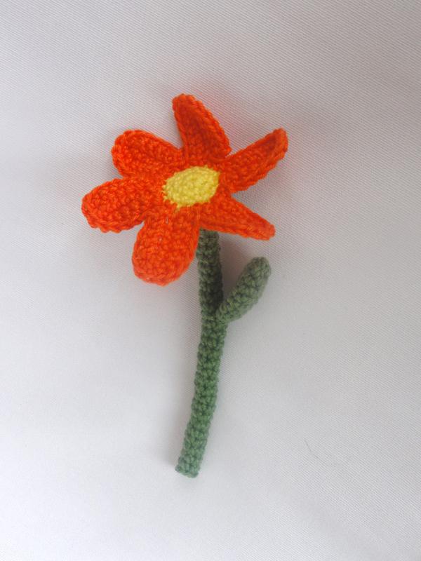 Amigurumi Flower Crochet Pattern : Flower Amigurumi Crochet Pattern IlDikko