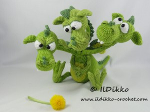 Amigurumi Baby Dragon : Easy amigurumi dragon crochet dragon pattern amigurumi dragon