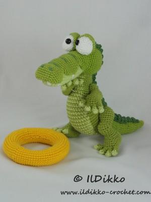 Conrad the Crocodile Amigurumi Crochet Pattern
