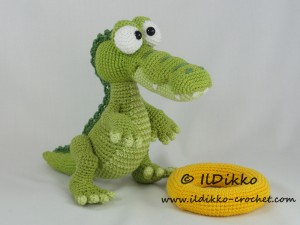 Amigurumi Alligator Free Pattern : Conrad the Crocodile Amigurumi Crochet Pattern