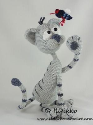 Kit Per Amigurumi : Kit the Cat Amigurumi Crochet Pattern