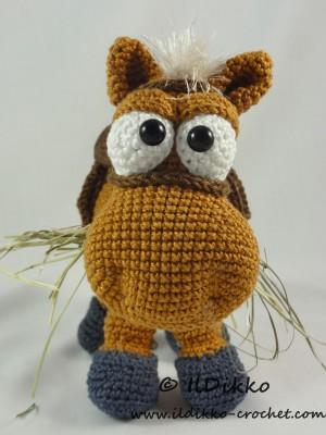 Herbert The Horse Amigurumi Crochet Pattern