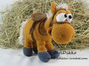 FREE} Amigurumi Crochet Horse pattern by Colour and Cotton ...   225x300