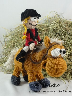 Horse White Dream Crochet Pattern Amigurumi toy (LittleOwlsHut ...   400x300