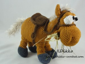 Heidi the Horse | Recipe | Crochet horse, Crochet pony, Crochet ... | 225x300