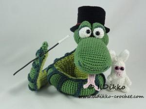 Amigurumi Knitting JAKE (Time of Adventures) Tutorial Amigurumi ... | 225x300