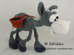 Little Amigurumi Donkey Free Crochet Pattern | New Post has … | Flickr | 225x300