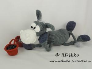 Donkey Ruda Amigurumi Crochet Pattern | 225x300