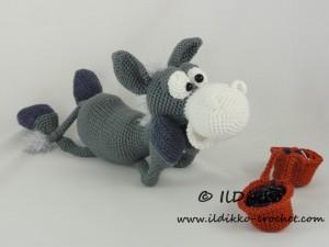 Dusty the Donkey – Amigurumi Crochet Pattern  67397b3aa