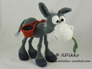 Baby donkey amigurumi pattern - Amigurumi Today | 225x300