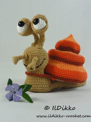 Sydney the Snail Amigurumi Crochet Pattern