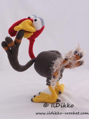 Theo The Turkey Amigurumi Crochet Pattern