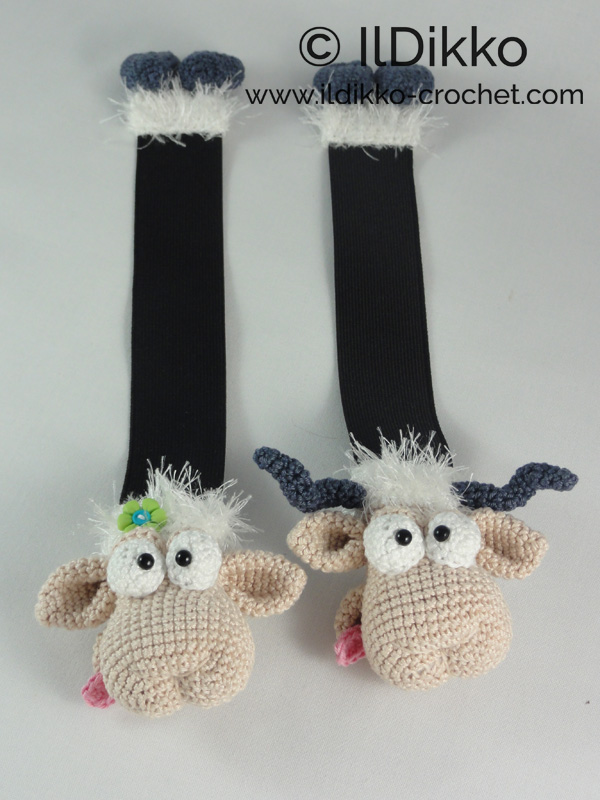 Sheep keychain – free crochet pattern - Amigurumi Today | 800x600