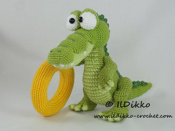 Dino häkeln /// knuddelig und total süß | 428x570