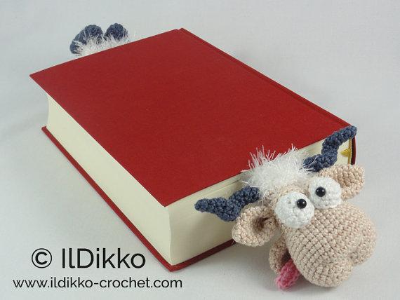 Mouse Bookmark Amigurumi | World Of Amigurumi - YouTube | 428x570
