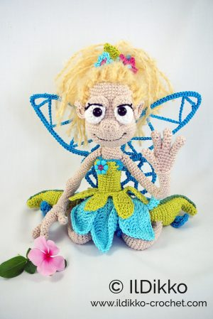 Amigurumi Fairy Doll Free Crochet Patterns - DIY Magazine | 449x300