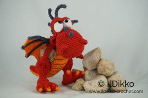 Crochet Amigurumi Dragon : Drew the dragon u amigurumi crochet pattern