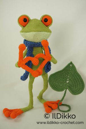 Fred the Frog – Amigurumi Crochet Pattern | | 449x300