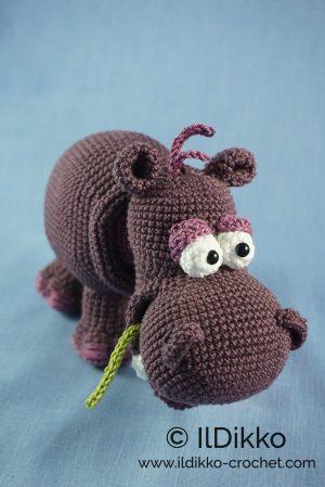 Crochet Amigurumi Hippo – Harvey Hippo | 449x300