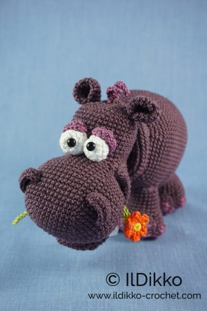 Hippo Amigurumi In Bikini - Free Crochet Pattern • Craft Passion | 449x300
