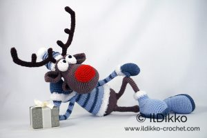 Rudolph the Red-Nosed Reindeer Crochet (Crochet Kits): Galusz ... | 200x300