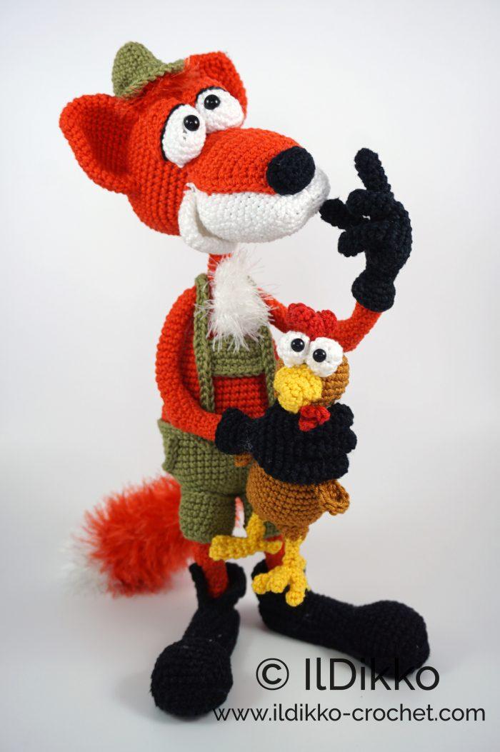 15 Crochet Fox Patterns - Crochet News | 1053x700