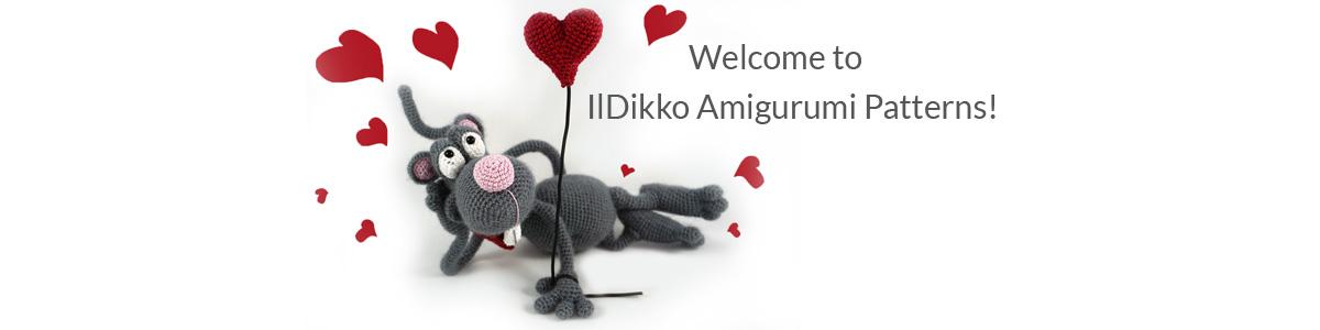 Kostenlose Fauler Hase Amigurumi Häkelanleitung - Little Bear Crochets | 300x1200