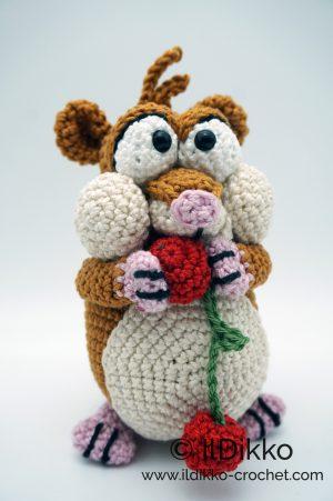 Hamish the Hamster - Amigurumi Crochet Pattern | Crochet phone ... | 451x300