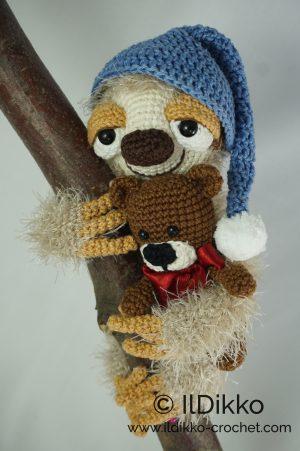 Adorable Amigurumi Sloths | 451x300