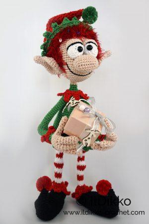 Elves Crochet Kit - Christmas Elf Cute Crochet Toy Amigurumi ... | 451x300