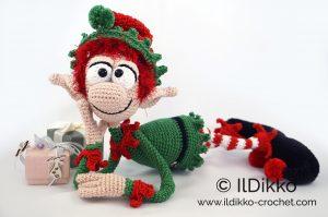Christmas Elf Crochet Pattern Roundup! | Christmas elf doll ... | 199x300