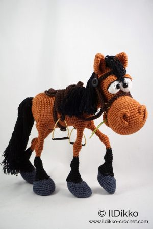 Unicorn and horse amigurumi pattern - Amigurumipatterns.net | 450x300